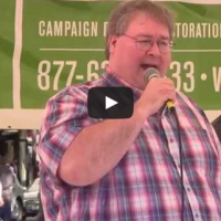Paul Stanford speaking at the 2015 Global Cannabis March