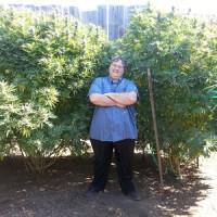 Paul Stanford in Portland THCF medical marijuana garden